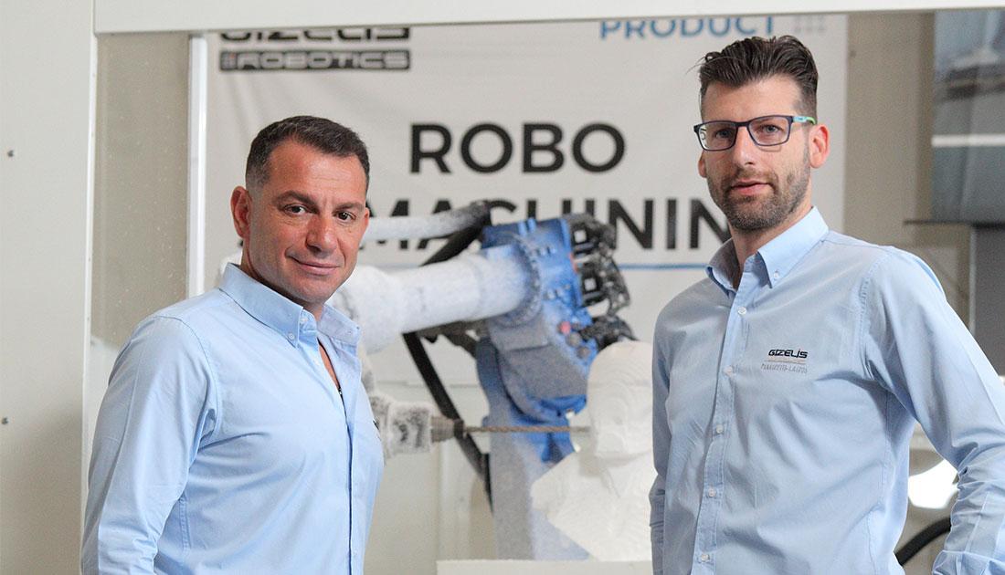 Η Gizelis Robotics καλεί τις βιομηχανίες να μεταβούν στην εποχή των smart factories