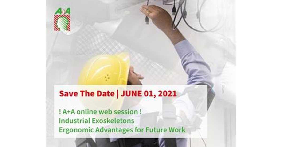 Ψηφιακή εκδήλωση  για τους βιομηχανικούς εξωσκελετούς