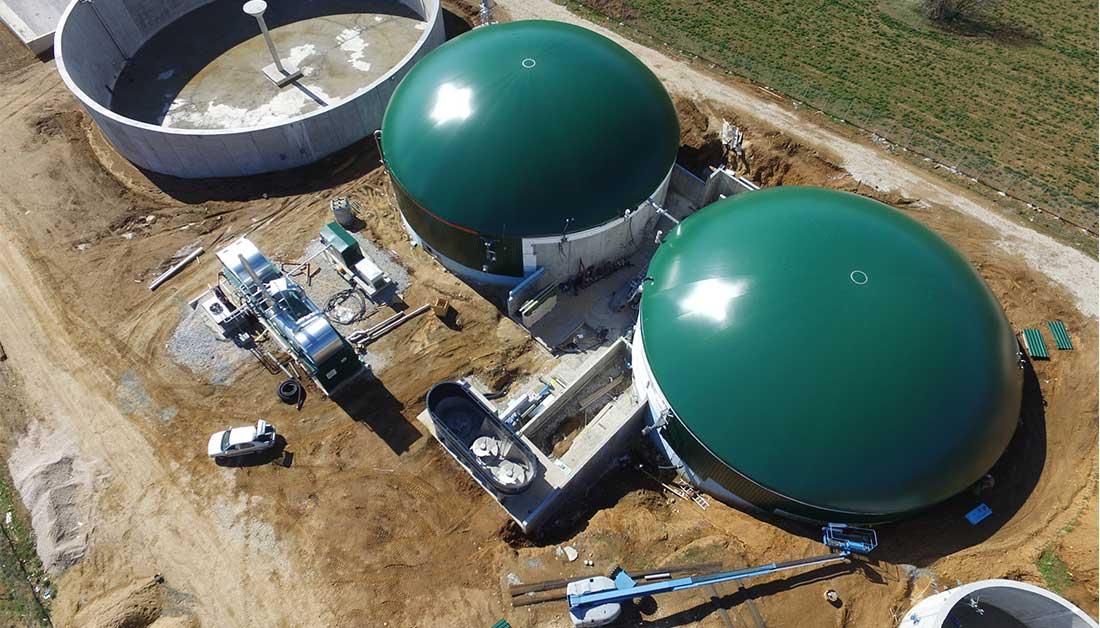kIEFER: 13.000 τόνους αποβλήτων ετησίως θα διαχειρίζεται  η νέα μονάδα βιοαερίου