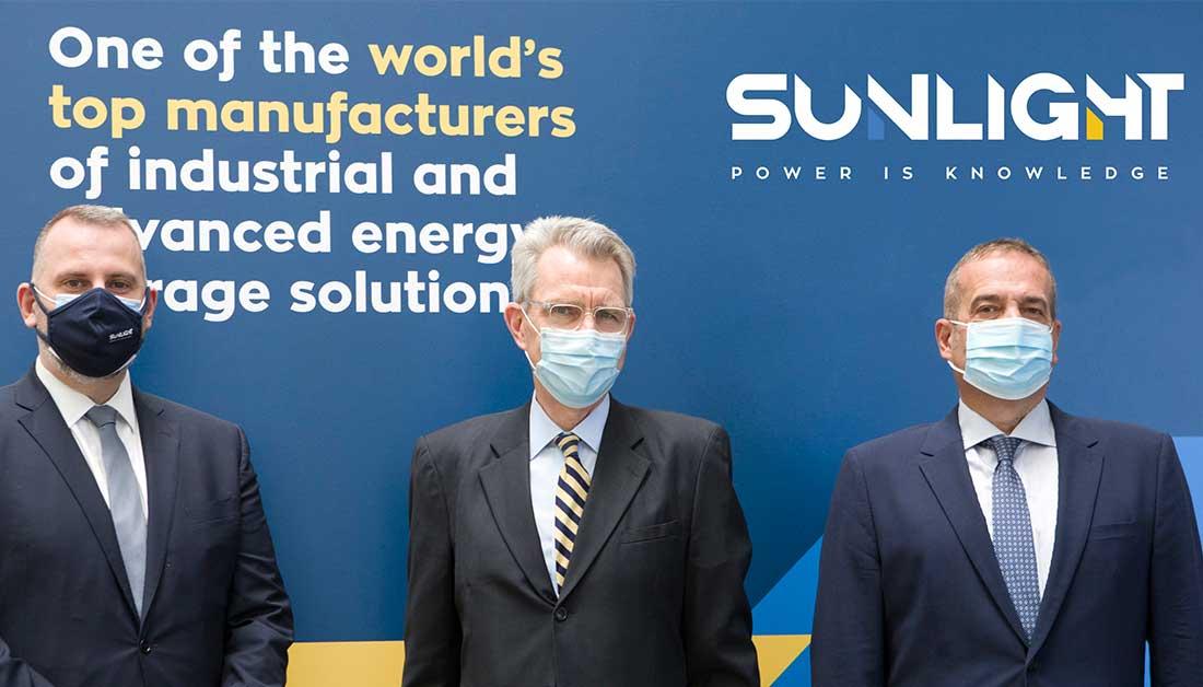 SUNLIGHT: Σχέδια για επέκταση των δυνατοτήτων του εργοστασίου στις ΗΠΑ