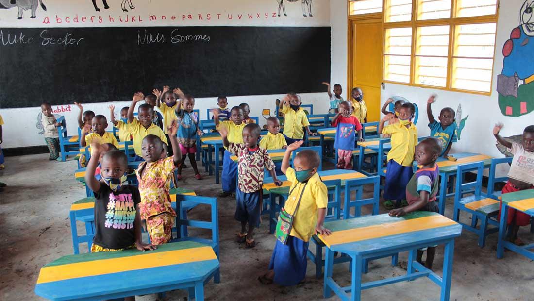 ΘΕΟΝΗ και ActionAid έχτισαν Κέντρο Ανάπτυξης Προσχολικής Αγωγής  στη Ρουάντα