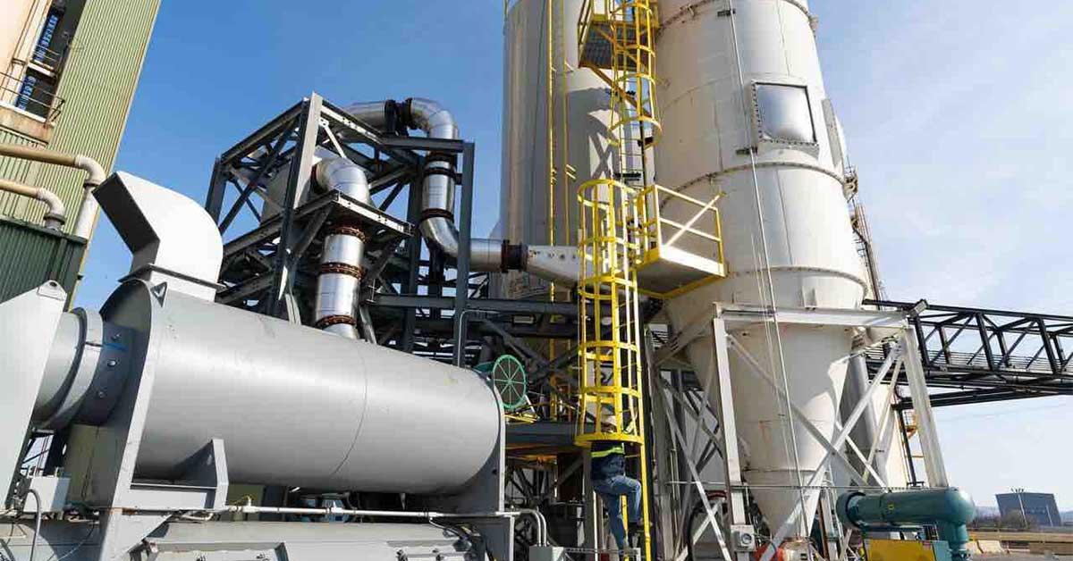 Η καινοτόμα βιομηχανική μονάδα της ΤΙΤΑΝ ανακυκλώνει ιπτάμενη τέφρα