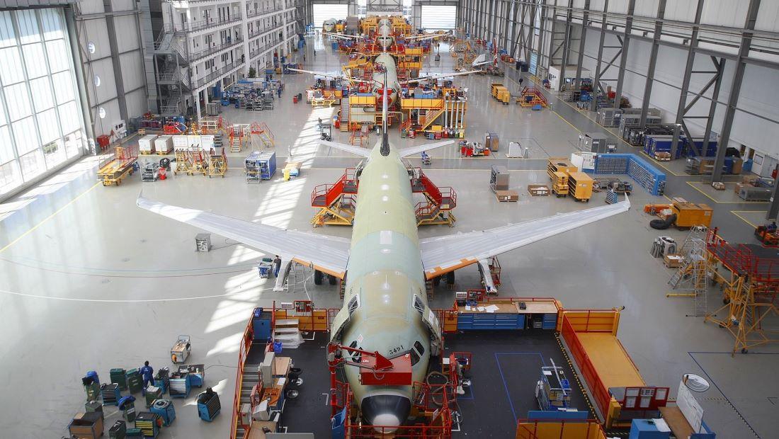 Η Airbus αυξάνει τους στόχους παραγωγής jet στοιχηματίζοντας στην ανάκαμψη της αεροβιομηχανίας