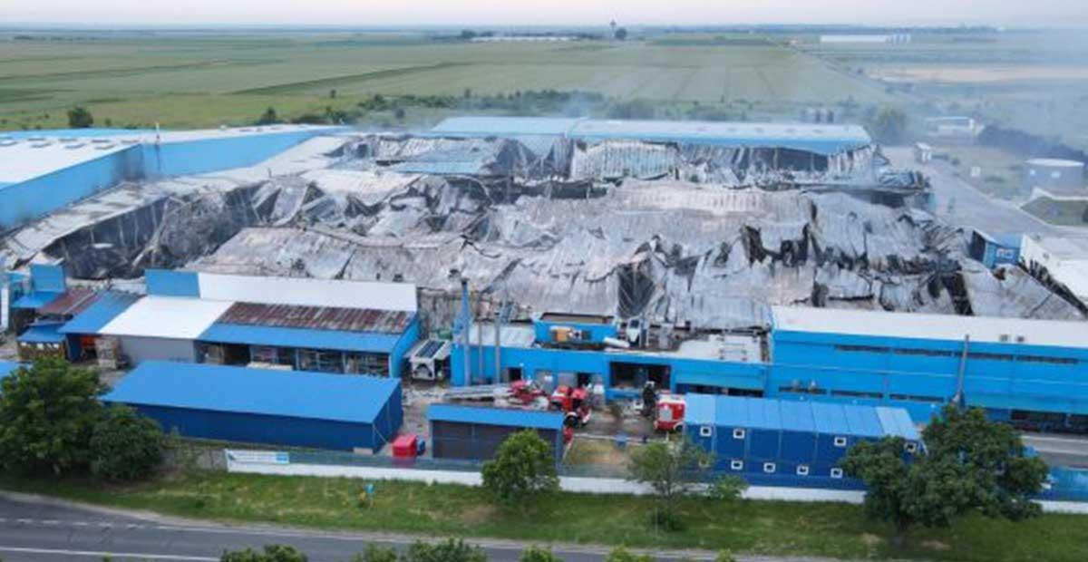 Frigoglass: «Σημαντικές ζημιές» στο εργοστάσιο της Ρουμανίας