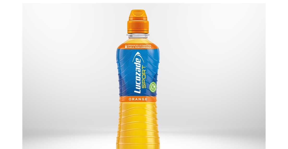 Η Suntory αλλάζει το μπουκάλι της Lucozade