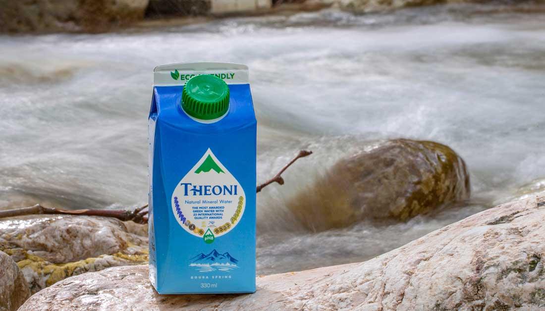 Το πρώτο ελληνικό Φυσικό Μεταλλικό Νερό σε καινοτόμο χάρτινη συσκευασία