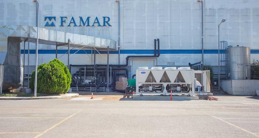 Η FAMAR επιλέγει τη SARMED για τη μεταφορά των προϊόντων της