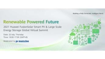 Virtual Summit της Huawei για την αποθήκευση ενέργειας