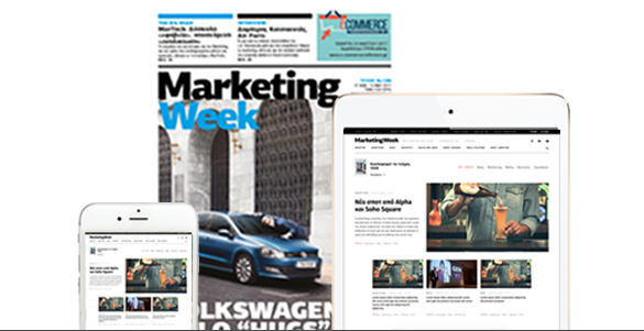 marketingweek newsletter